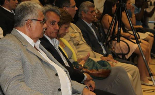 Antonio Henrique, Paê e Regina Figueiredo, que deve assumir hoje a Prefeitura de Barreiras