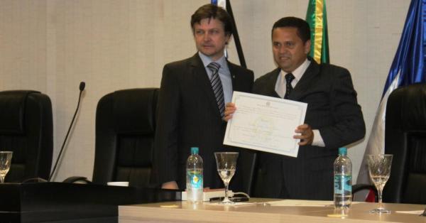 Jarbas Rocha, vereador eleito pelo PHS: depois de 3 eleições, finalmente o diploma.