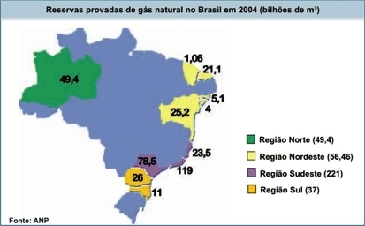 Reservas de g s natural da bahia podem alcan ar 25 de for Gas ciudad o gas natural