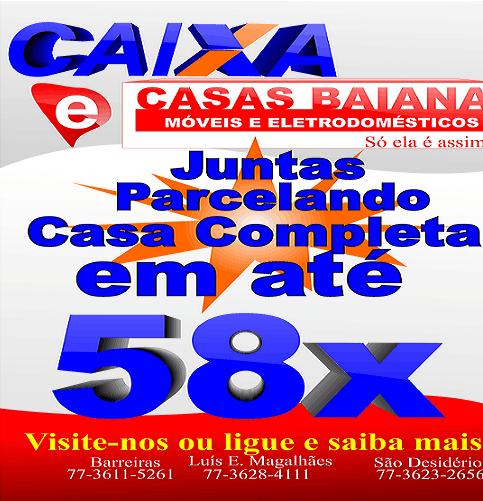 Casas baiana 58X