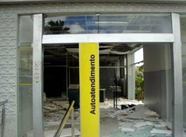 Agência do BB foi destruída depois de duas fortes explosões