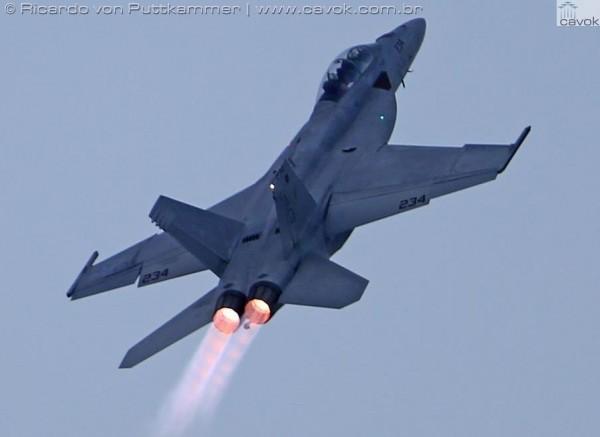"""O F18 Hornet - """"Vespão"""" ou Marimbondo"""