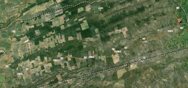 A BA 349 é uma estrada estreita, com grandes retas e tráfego de grandes e lentos caminhões.