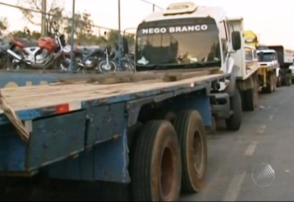 Imagens de vídeo da TV Bahia e texto do G1