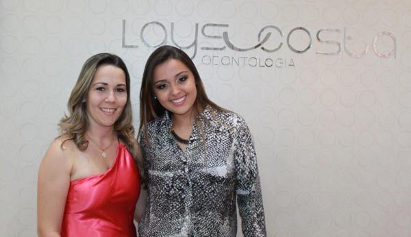 Daniela Yamamoto e Laís