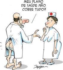 PLANO DE SAÚDE - CHARGE