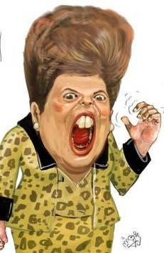 Dilma Brava por Aroeira