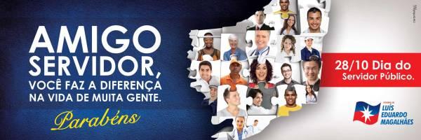 Banner online - Dia do Servidor Público - LEM - Para veiculação nos dias 26-27-28 de outubro