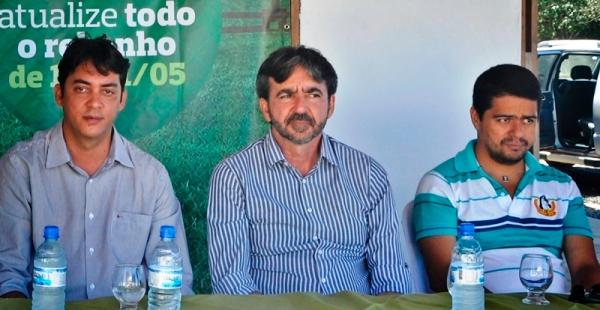 Jabes Júnior, Neo Afonso e o novo aliado vereador Gillian Rocha