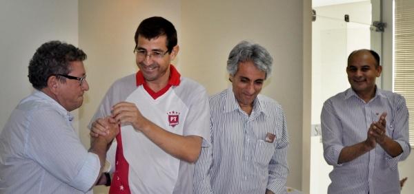 Luiz Caetano, Professor Valdeci, Paê Barbosa, vice-prefeito de Barreiras e Vandim, de Muquém do São Francisco.