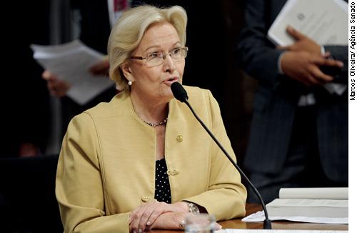 Senadora Ana Amélia, autora da proposição.