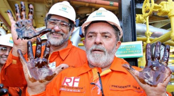 Sérgio Gabrielli e Lula