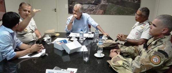 O Comandante da PM no oeste, Coronel Inácio Paz de Lira, explicou detalhes de como a PM irá atuar contra infratores, antes e durante as atrações de aniversário da cidade.