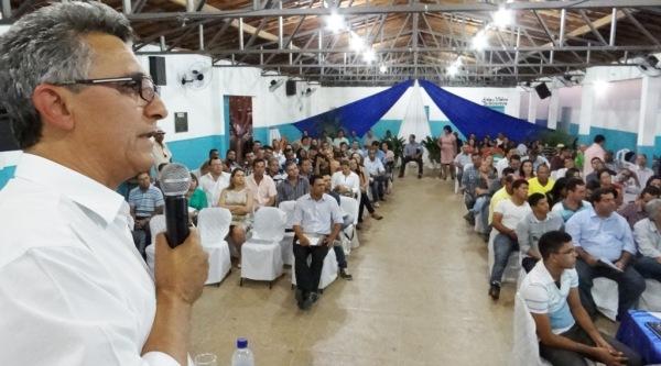 Alfredo Boa Sorte apresentou a situação dos programas e ações do governo estadual.