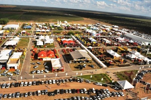 Bahia Farm Show 2014 imagem aérea