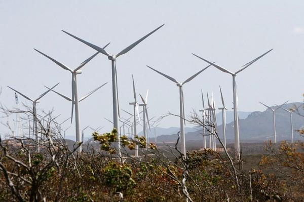 Parque Eólico de Brotas de Macaúbas Foto: Alberto Coutinho/Secom