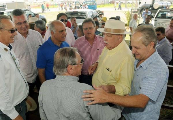 Visitas aos estandes da Bahia Farm Show.
