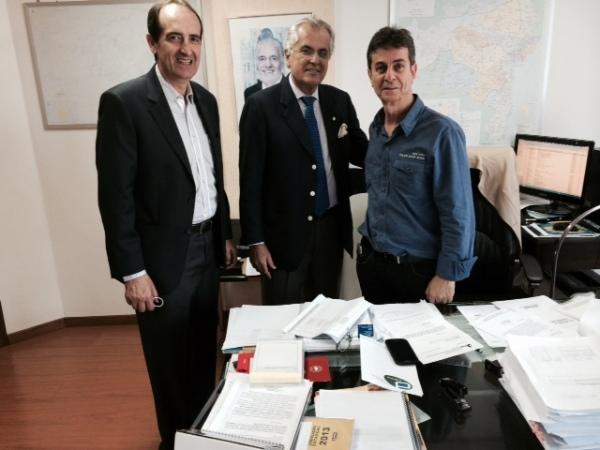 Pitt, Humberto e Saulo
