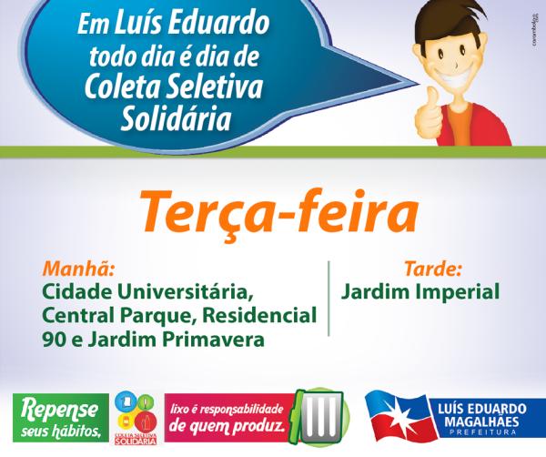 3 - TERÇA - HORÁRIO COLETA WEB