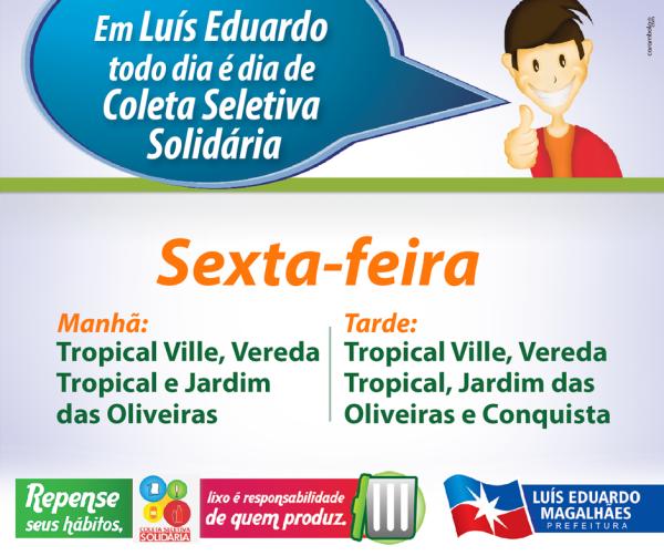 6 - SEXTA - HORÁRIO COLETA WEB
