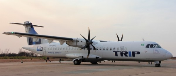 Aeroporto de Barreiras. Foto Gazeta do Oeste.