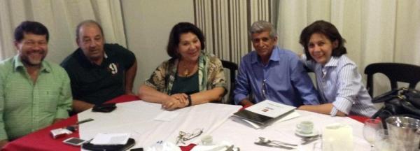 A Candidata em recente visita a Luís Eduardo Magalhães.