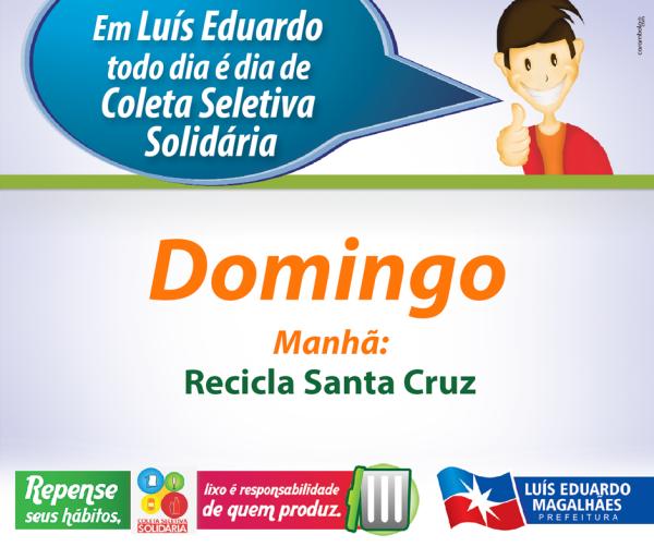 1 - DOMINGO - HORÁRIO COLETA WEB