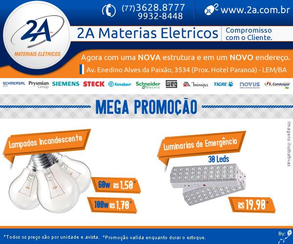 2A lâmpadas