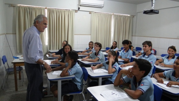 Para o prefeito Humberto Santa Cruz essa conquista é reflexo do empenho de todos envolvidos, de professores à alunos.