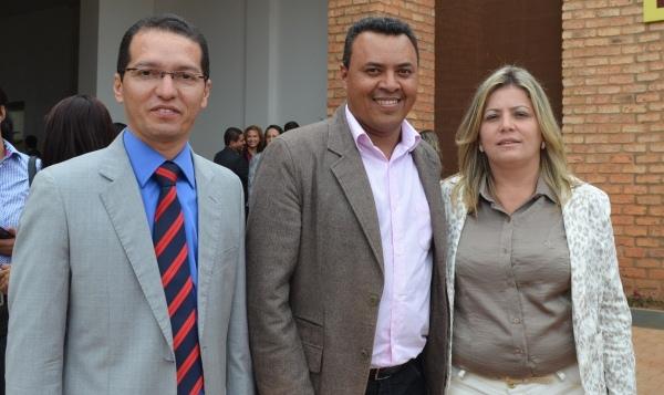 Presidente da Câmara de Vereadores de Barreiras, Carlos Tito, e vereadores