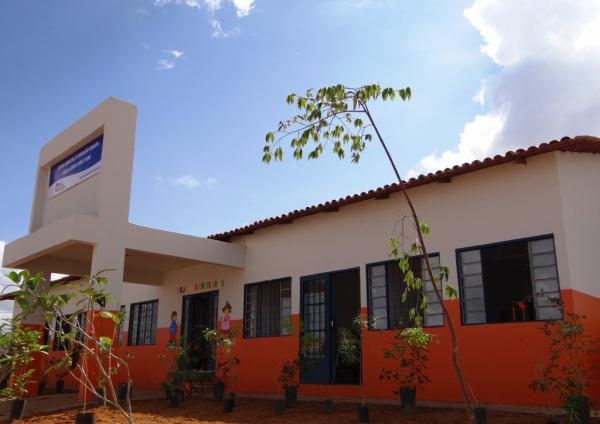 O CEMEI Cleuza Santos Silva e Silva conta com seis salas de aulas e atenderá 270 crianças de 03 a 04 anos (1)