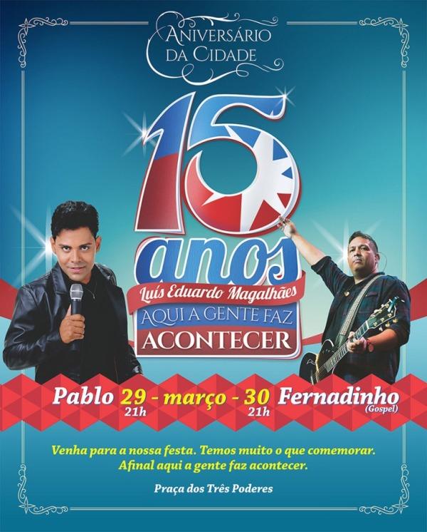Pablo e Fernandinho se apresentam em meio as comemorações dos 15 anos de LEM (1)