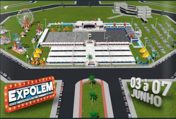 A EXPOLEM acontecerá entre os dias 03 e 07 de junho