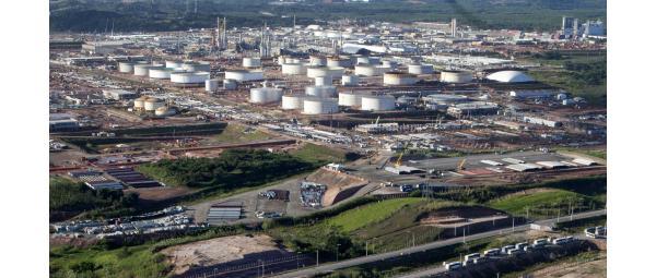 Refinaria Abreu e Lima, Pernambuco. Exemplo da corrupção na Petrobrás.
