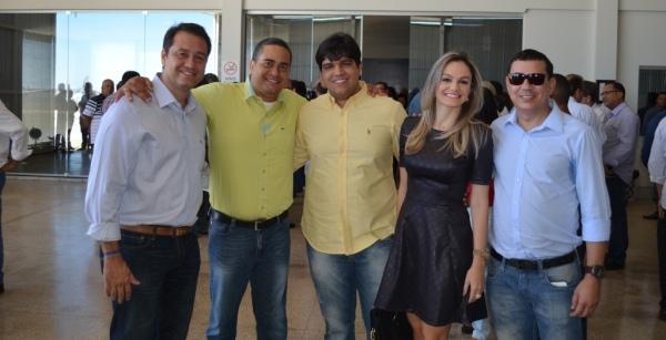 Rivaldo Luz, Leonardo Mendes Junior, Bruno Martinez, Danielle Luz e Carlos Freitas.