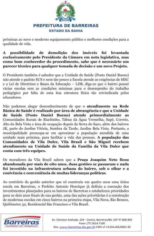 NOTA SOBRE A CONSTRUÇÃO DE OBRA VILA BRASIL-3