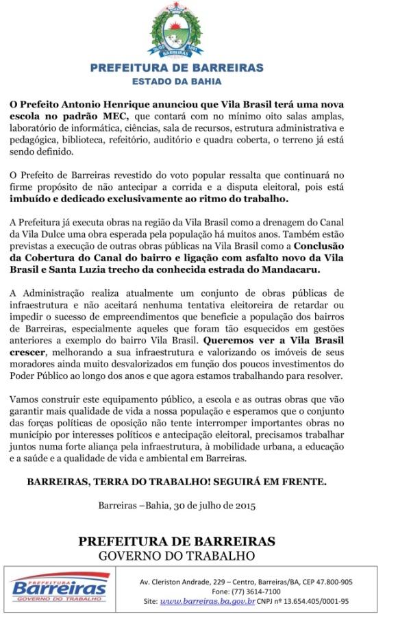 NOTA SOBRE A CONSTRUÇÃO DE OBRA VILA BRASIL-4
