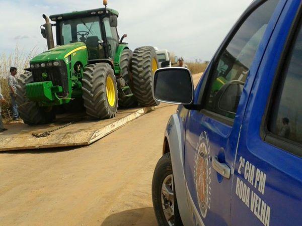 trattor roubado