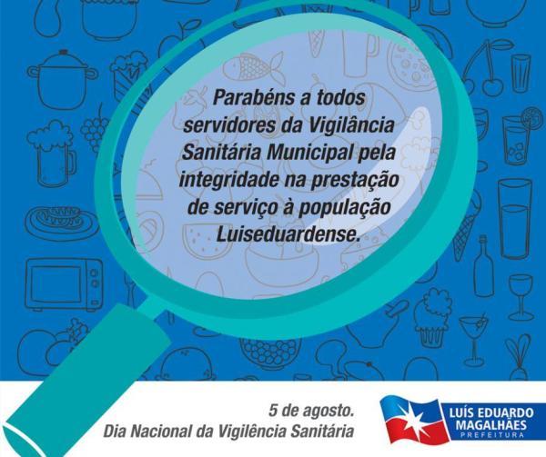 Dia Nacional da Vigilância Sanitária