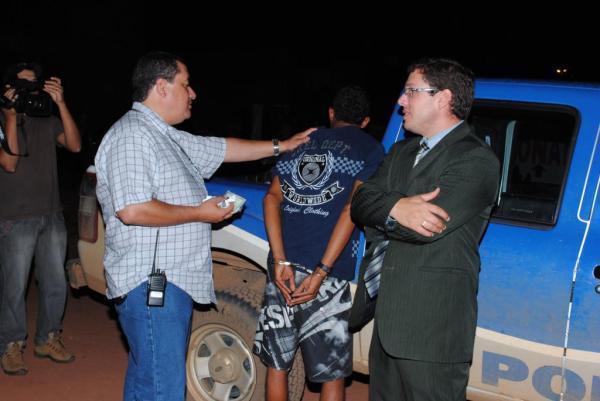 O então delegado josé Resende de Moraes Neto e o então secretário de Segurança, Eder Fior, organizaram o choque de ordem.