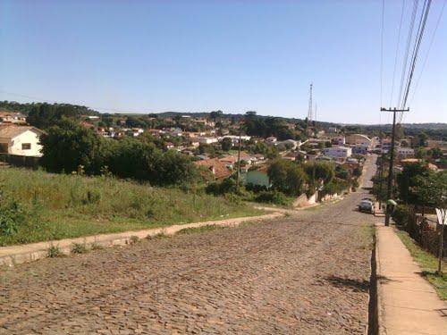 A pequena cidade de Ipiranga, a 175 km da capital, Curitiba.