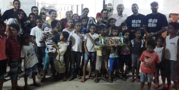 Novo núcleo do Skate em Ação no Jardim das Oliveiras atenderá 150 crianças