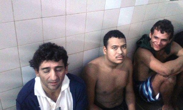 Detidos após a fuga