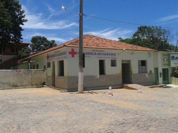 O local onde funciona o Hospital de Correntina