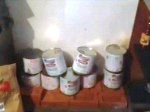 As latas de merenda