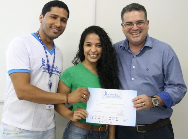 Werther Brandão representou o Prefeito na entrega dos diplomas