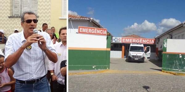 O ex-prefeito de Itaberaba Jadiel Mascarenhas foi atendido pelo HGI - FOTO Jornal da Chapada