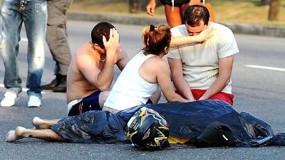 Os acidentes com motociclistas sobrecarregam inclusive o sistema de Saúde.