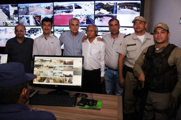 Os participantes do evento visitaram o Centro de Controle de Operações