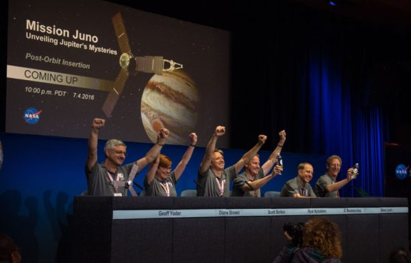 Foto: Aubrey Gemignani/ NASA